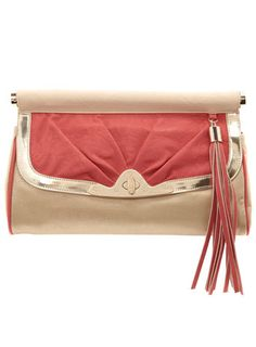 Coral bar top clutch