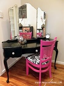 DIY vanity - Click image to find more diy & crafts Pinterest pins