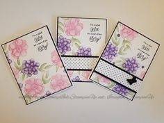 15c940d6a Simple to stepped up cards using Stampin  Up! Painted Seasons~Occasions  Catalog  simplestamping
