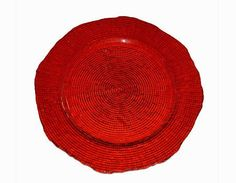 Party Rental Products Eternity Red Charger 12 inch Chargers | Smith Party Rentals