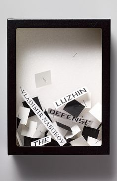 Vladimir Nabokov's The Luzhin Defense by John Gall for Vintage Books | 2010 D&AD Wood Pencil for Book Design – Book Front Covers