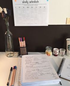 """Study motivation - So freaking stressed I'm going through a lot but still trying to be positive and grateful This is me revising biology 😌🌼 """" Study Space, Study Desk, Study Areas, Study Schedule, Study Organization, University Organization, Study Methods, School Study Tips, Study Hard"""