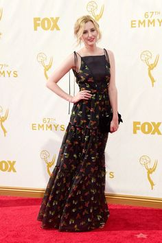 Pin for Later: See Every Fashion Moment From the Emmys Red Carpet Laura Carmichael