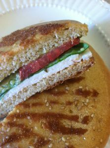Sandwich bread- gf. with almond flour. I actually have the ingredients for this one!