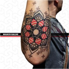 neo traditional geometric tattoo - Google Search