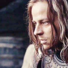 Jaqen H;ghar -- One of my favorite characters (so far, seriously just started watching from S01 3 weeks ago); love his dialogue with Arya.