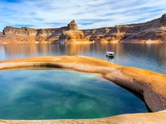 Why we love it: A desert oasis among red rocks, made for boaters and watersport junkies alike