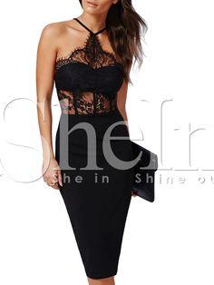 Vestido+halter+con+encaje+-negro+18.34