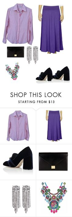 """My mom's kind of outfit!😂😂"" by fatimaattia ❤ liked on Polyvore featuring Loro Piana, Kosher Casual, Miu Miu, Victoria Beckham and Ayala Bar"