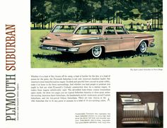 1961 Plymouth Suburban station wagon