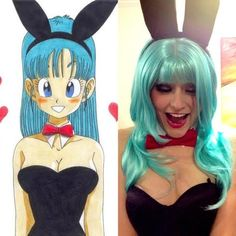 "Bulma (ブルマ, Buruma; lit. ""Bloomers"") is a supporting protagonist in the Dragon Ball manga, and in the animes Dragon Ball, Dragon Ball Z and Dragon Ball GT. Bulma is considered the most significant female character in the series. I had an absolute blast wearing this to 'Sea Of Dreams' on NYE 2014."