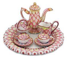 Miniature tea Set by Amanda E. Skinner