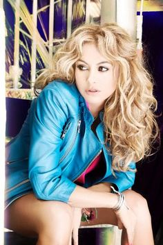 Paulina Rubio beautiful hair