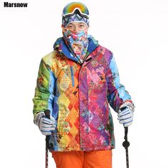 best price dropshipping new brand snow jacket waterproof windproof thermal thicken coat 2017 hiking #ski #jacket #brands