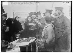 British at Etaples buying from natives (LOC) by The Library of Congress, via Flickr