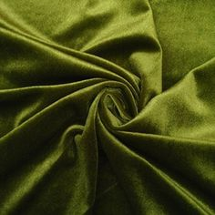 Stretch Velvet Fabric Olive Green Fabric Velvet Fabric By The Yard Sewing Fabric…