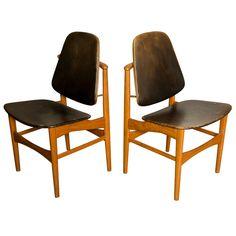 Arne Vodder 'floating Chairs' , Denmark 1960