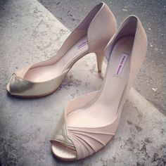 Nitche @Bonny. - Patricia Blanchet Peeps, Women Accessories, Peep Toe, My Style, Wedding, Shoes, Couture Accessories, Shoe, Valentines Day Weddings