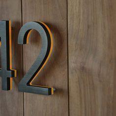 Backlit acrylic signage