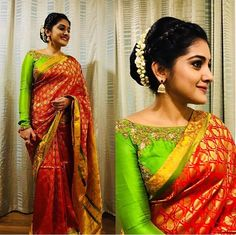 ❤️💚 For opening in Vizag. Buy Designer Sarees Online, Designer Silk Sarees, Buy Sarees Online, Art Silk Sarees, Mysore Silk Saree, Silk Saree Kanchipuram, Chiffon Saree, Fancy Sarees, Party Wear Sarees