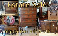Upcoming Estate sale at the Ruckersville Gallery, Saturday September 6th and Sunday September 7th