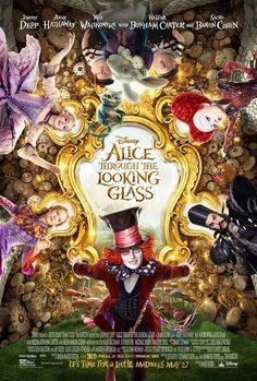 Alice attraverso lo specchio – Un poster e un nuovo trailer sulle note di White Rabbit