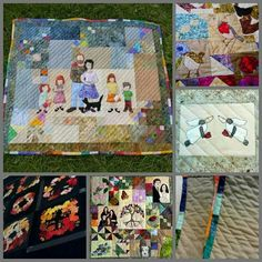 Some of the quilts I have made recently. I am always happy to do one off commissions. Just ask.