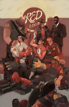 Glory, Glory to the red team Team Fortess 2, Red Team, Tf2 Meme, Team Fortress 2 Medic, Art Memes, Video Game Characters, Video Game Art, Character Development, Nerd Geek