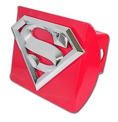 Towing & Hauling Superman Custom Made Hitch Cover In Pain Sports Mem, Cards & Fan Shop