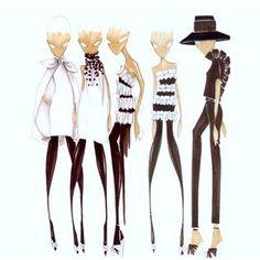 japanese fashion illustrations