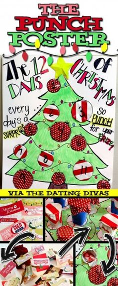 12 Days of Xmas Punch Poster