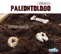 La ricetta dei fossili di dinosauro fai-da-te per apprendisti paleontologi (con pasta di sale!)