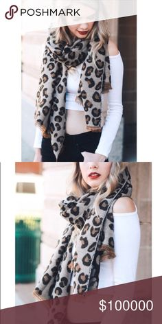❄️COMING SOON❄️Leopard Print Knit Scarf. Knit Leopard Print Scarf! So cute and trendy this season! Accessories Scarves & Wraps