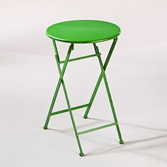 Green Metal Folding Accent Table  SKU #453943  $39.99  Sale: $34.99