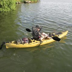 """... Riot Kayaks """"Escape 12 Angler"""" has arrived at Grand River Kayak#kayaking #kayak   #outdoors   #canoeing   #boating  #fishing   #adventure #bassfishing   #holiday  #river http://www.salalo.com/search/label/Boating"""