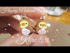 """Kiiroitori in an Owl Costume """"Happy Natural Time"""" Part 2 polymer clay tutorial"""