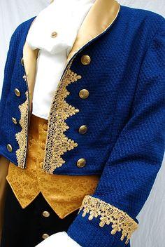 Beast Inspired Custom Costume Detail