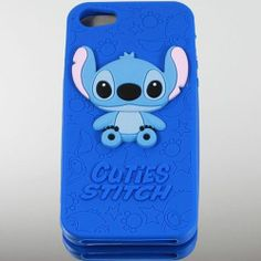 Stitch Silicon Cover Case For Apple iPhone 4