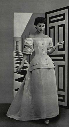 1954 -Christian Dior Ensemble