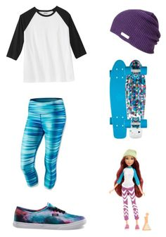 """""""Project MC2 Cam Themed Outfit"""" by artsydoglovergabs ❤ liked on Polyvore featuring NIKE, Vans, MC2, women's clothing, women, female, woman, misses and juniors"""