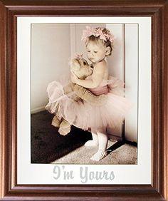 Karyn Cute Teddy Bear Ballerina Baby Girl Wall Decor Maho…