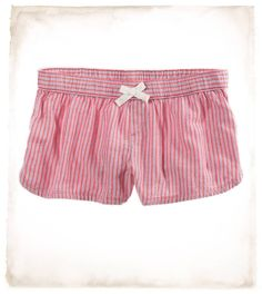 aerie washed cardinal flannel boxers