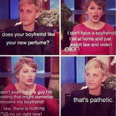 I love Ellen!  im dying right now!
