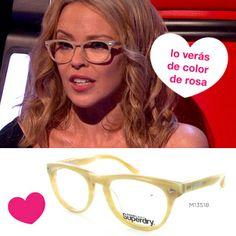 Nos encantan las gafas Superdry que Kylie Minogue lucía el sábado en la versión americana del programa musical 'La Voz'. ¿Y sabes lo mejor? ¡Que las tenemos en nuestras ópticas!   http://web.naturaloptics.com/group/es/localizatuoptica/  ¡Te esperamos!   #IdeasRegalo #SanValentinConVista