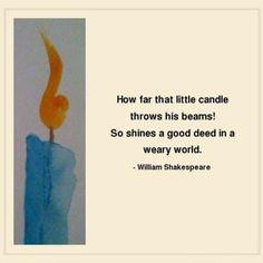 William Shakespeare #Quote:                                                                                                                                                                                 More