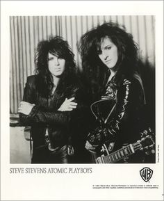Steve Stevens - Atomic-Playboys - (with Parramore McCarty singer)