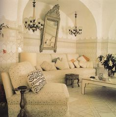 Villa Tre Ville – Then and Now | Cristopher Worthland Interiors Moroccan Design, Moroccan Decor, Moroccan Style, Style At Home, Space Architecture, Home Fashion, Decoration, Beautiful Homes, House Beautiful