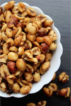 Crockpot Spicy Peanuts Recipe Tammilee Tips Make with homemade chili seasoning tho