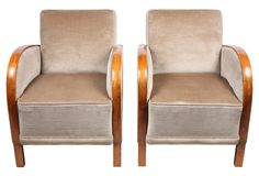 Karl Andersson-Style  Armchairs,   Pair