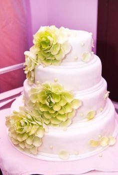 17 propostas de bolos de casamento românticos! Image: 14